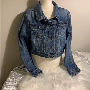 Old navy denim XL jacket cropped